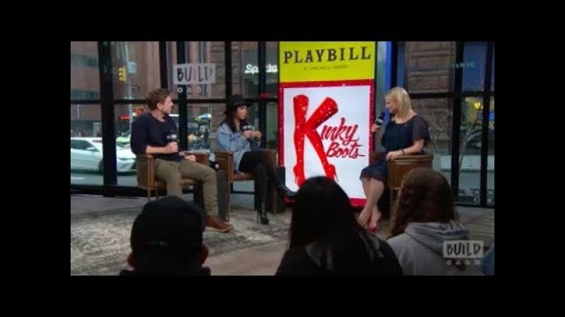 Jake Shears Kirstin Maldonado Stop By To Talk About Kinky Boots