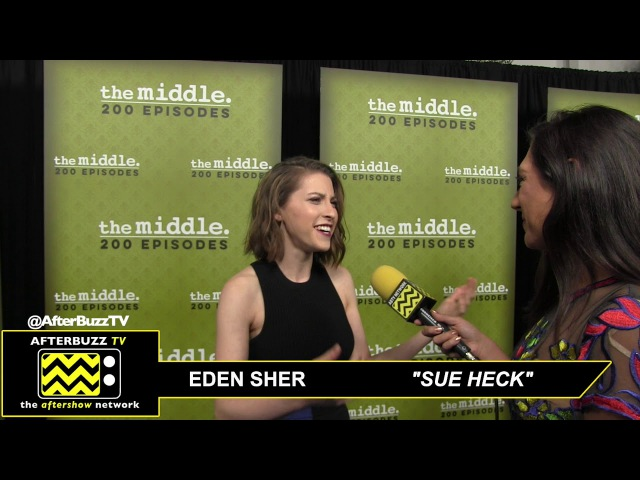 The Middle 200TH Episode Party ABTV Interview with Eden Sher