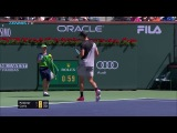Hot Shot Coric Outfoxes Federer In Indian Wells SF 2018