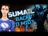 SumaiL Hardcore Practice Shadow Fiend - Back to Solo Mid Dota 2