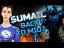 SumaiL Hardcore Practice Shadow Fiend Back to Solo Mid Dota 2