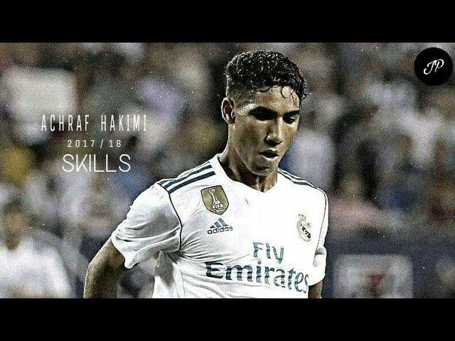 Achraf Hakimi 2017/18 || Real Madrid || Skills ★ Passing ★ Dribbling ★ Goal ★