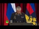 Владимир Путин принимает участие в расширенном заседании коллегии МВД