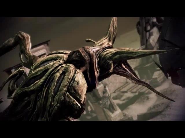 Mass Effect 3 жнец против молотильщика