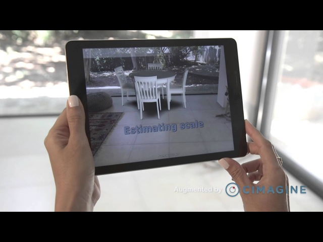 Cimagine Augmented Commerce: iPad Demo