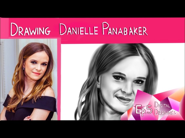 Drawing Danielle Panabaker (Caitlin Snow - The Flash)