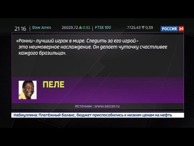 Новости на «Россия 24» • Легенда уходит: Рональдиньо завершает спортивную карьеру