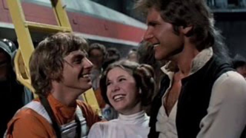 Star Wars - Luke / Leia / Han || Flares