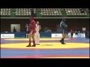 NEMKOV Vadim RUS vs IVANOV Genko BUL World Sambo Championship 2014 in Japan
