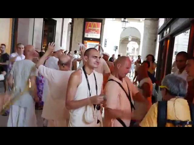 Harinama Yatra Nitay Gauranga ITALIA - TORINO 18 July
