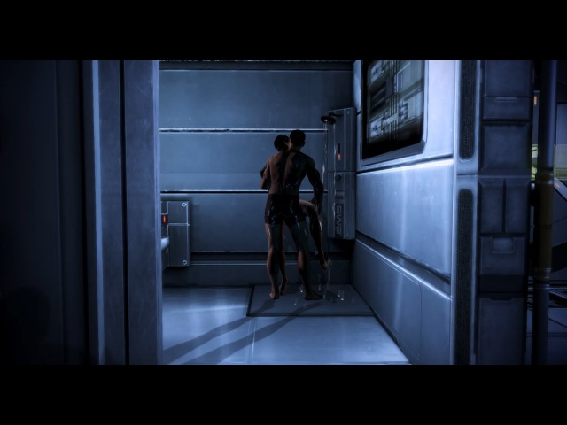 Mass Effect 3 - MaleShep Traynor Romance Shower Scene How to unlock it