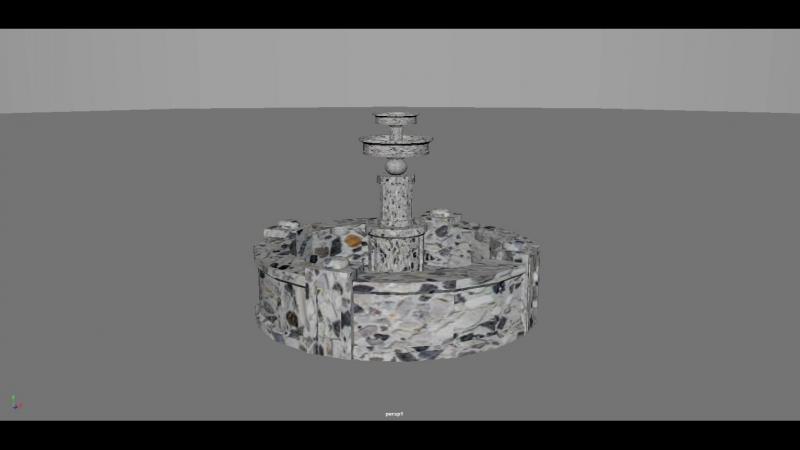 Fountain (set driven keys test)