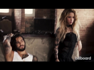 Малума исполняет драматические чтения песен Шакиры  для  Billboard