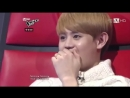 BEAST 비스트 Yang Yoseob getting emotional and shocked by a little girl singing