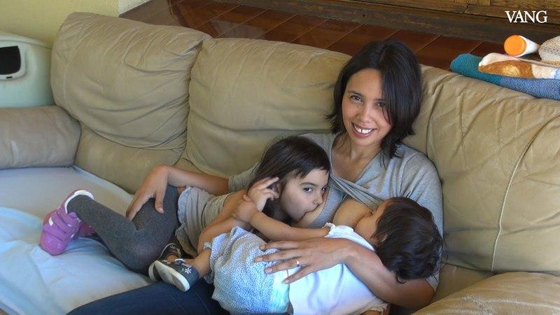 Amamantar a niños mayores, una tendencia al alza