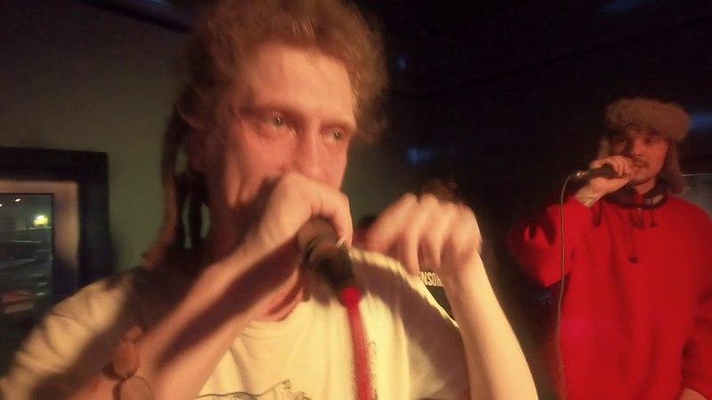 GUDJAHRAD [ONE MAN LESTA TAEB] - live (31.03.18) Дюны на Лиговке