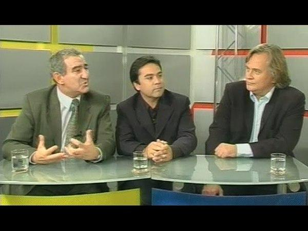 Михаил Казиник, Тито Бельтран и Стен Николсон в программе