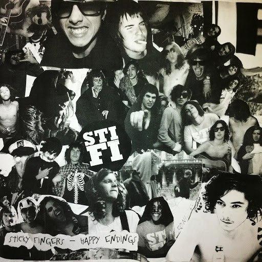 Sticky Fingers альбом Happy Endings