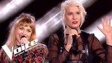 Eurythmics (Sweet dreams) | B. Demi-Mondaine vs Luna Gritt | The Voice France 2018 | Duels