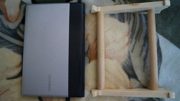 #разное@bankakomiПодставка для ноутбука из дерева ручной работы. Сто