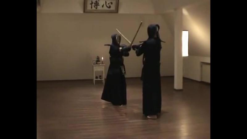 Kendôkyôhon 9 50 Hidari Ai Jodan Men