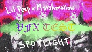 VFX Lyric video/ Lil Peep x Marshmallow - Spotlight