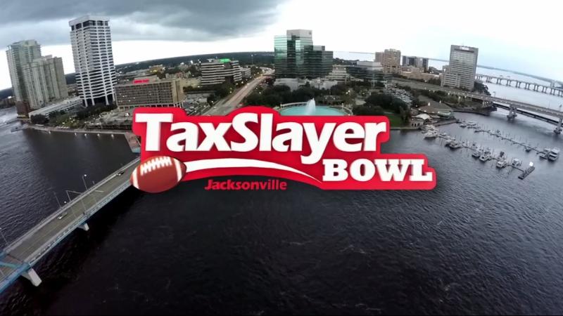 NCAAF 2017 / TaxSlayer Bowl / Louisville Cardinals - (23) Mississippi State Bulldogs / 1Н / 30.12.2017 / EN