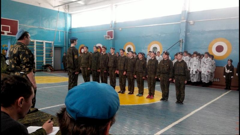 Выступление старшей группы на соревнованиях в Свердловске.
