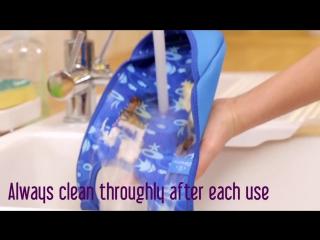 Bibetta - washing instructions for neoprene.