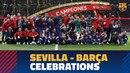 SEVILLA 0-5 BARÇA | Copa del Rey Final celebrations