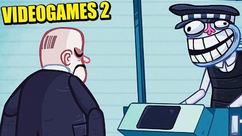 HITMAN EN EL LECTOR DE CÓDIGOS DE BARRAS - VIDEOGAMES 2 - TROLLFACE QUEST | Gameplay Español