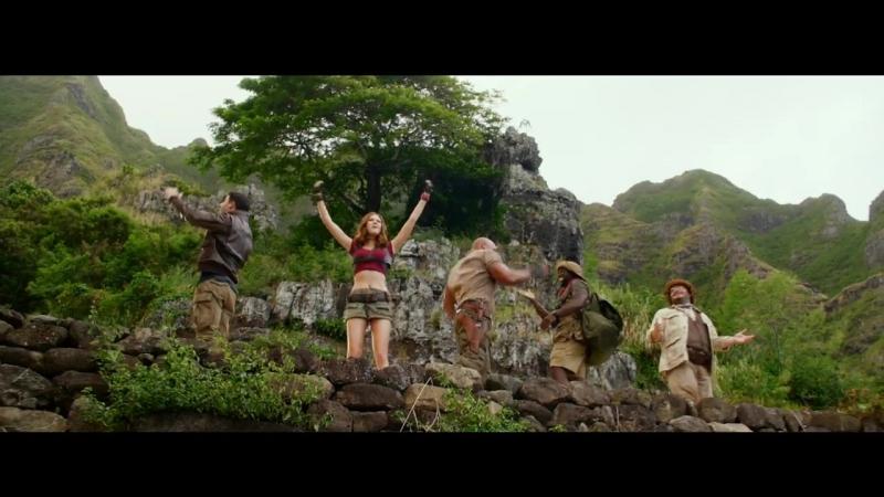 Джуманджи: Зов джунглей / Jumanji: Welcome to the Jungle (2017): Blu-ray и Digital