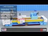L-700 4-осевая система лазерной выверки токарного станка (ч1)