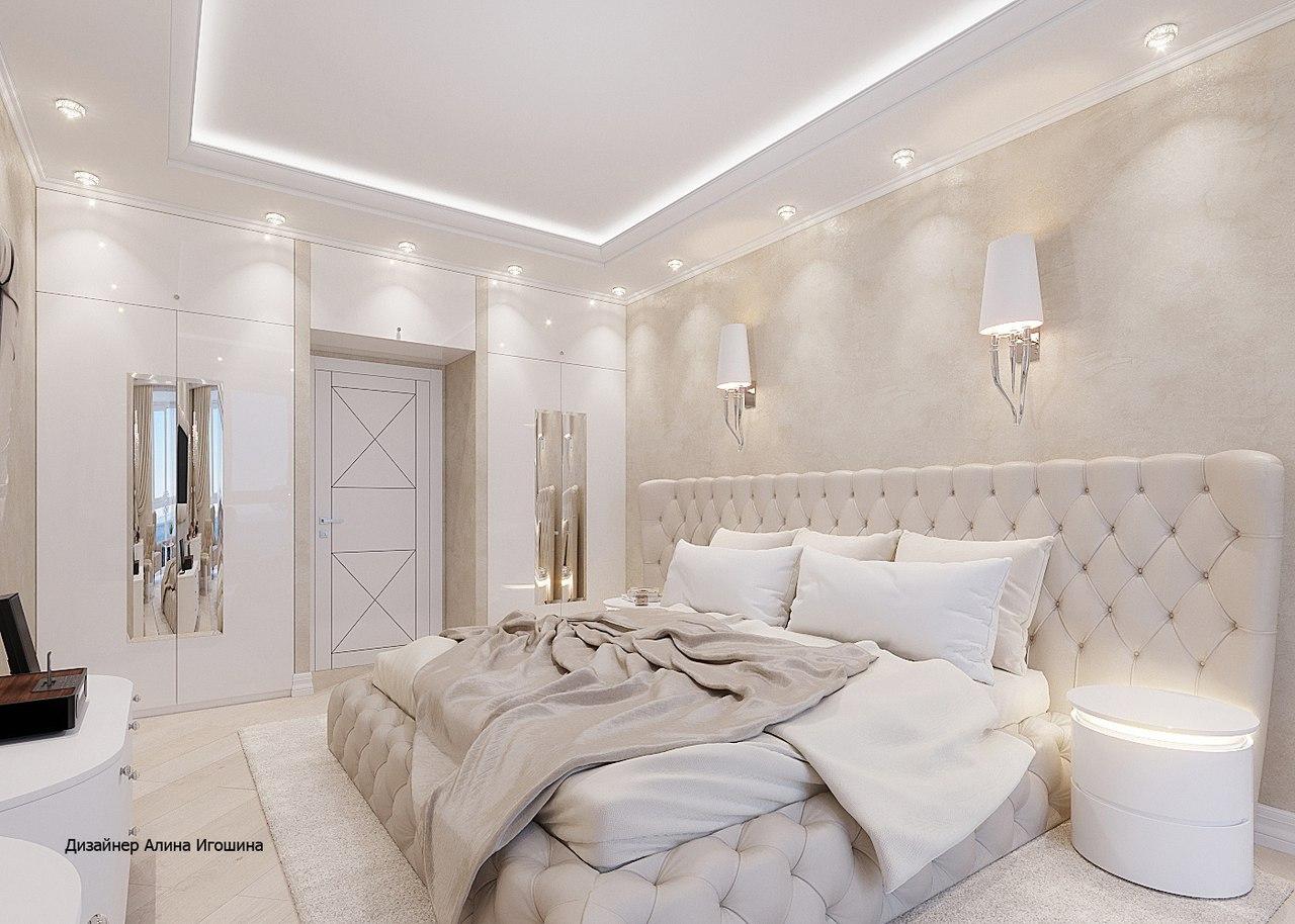 Очень нежная спальня с видом на Море