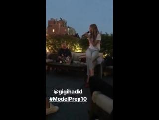 IMG Models Instagram stories
