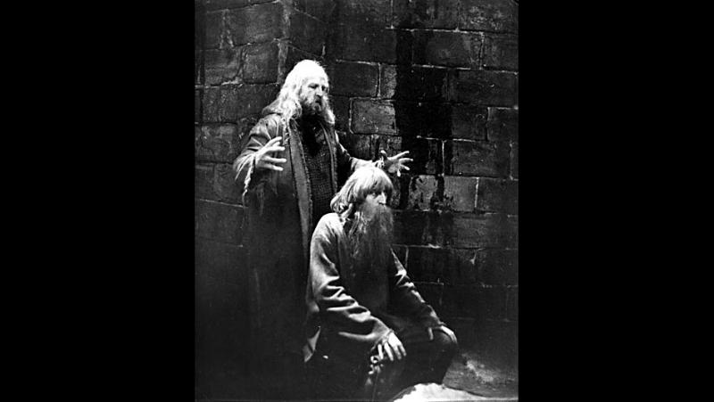 Аббат Фария (исполняет А. Петренко, по роману А.Дюма Граф Монте-Кристо)