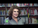 Фанни Ардан Fanny Ardant - Интервью каналу RT (на французском) (Эфир от 30.01.2018)