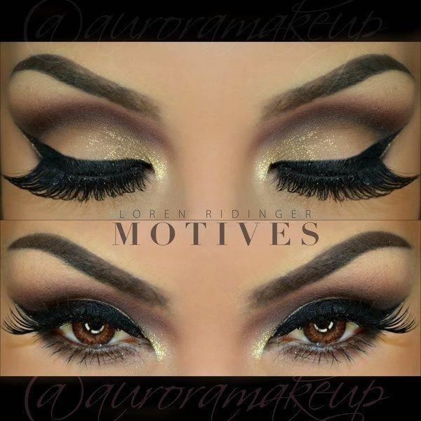 Идеи макияжа для карих глаз!