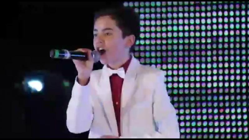 Старинная татарская песня в исполнении талантливого юного певца, Марата Садриева