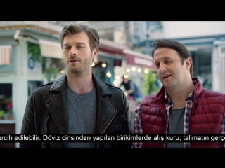 Kıvanç Tatlıtuğ/ Kıvanc Tatlıtug - Akbank Balıkçı Siftah Reklmı