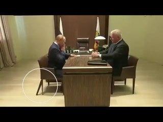 Путину подпелили ножку кресла