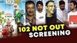 102 Not Out Special Screening | Ranbir Kapoor, Rajkumar Hirani, Abhishek Bachchan, R. Balki