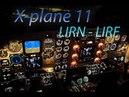 X Plane 11 LIRN Naples LIRF Rome Fiumicino Travel around the world King Air 90B Vatsim IVA