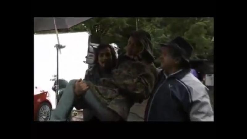ГлюкоZа на съёмках фильма Руд и Сэм YouTube
