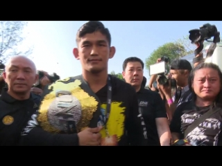 One championship: quest for gold