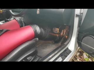 BMW stuck