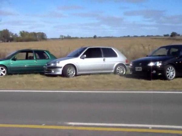 Club Peugeot 106 Argentina - Caravana Lobos Junio '11