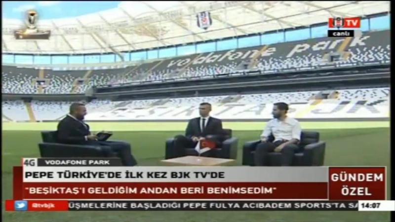 Beşiktaşın Yıldız Transferi Pepe Soruları Yanıtladı 5 Temmuz 2017