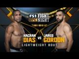 UFC Fight Night Полулегкий вес Хакран Диас — Джаред Гордон