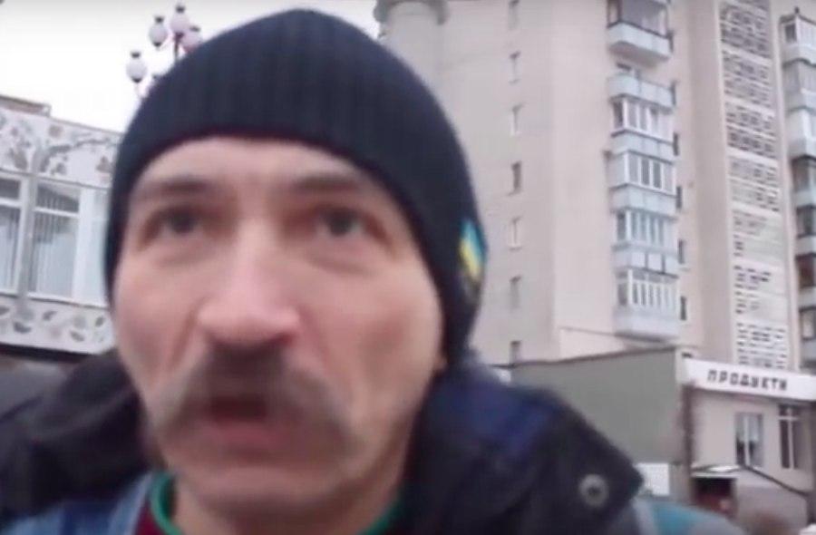 Украинец с Майдана: С роднёй из Донбасса  буду разговаривать только с помощью автомата